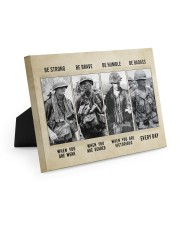 Vietnam Veteran Be Strong Be Brave Be Humble 10x8 Easel-Back Gallery Wrapped Canvas thumbnail