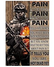 Pain Is Your Friend 11x17 Poster front