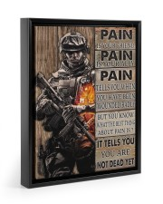 Pain Is Your Friend 11x14 Black Floating Framed Canvas Prints thumbnail