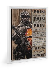 Pain Is Your Friend 11x14 White Floating Framed Canvas Prints thumbnail