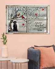 A Big Piece Of My Heart Lives In Heaven Black Lab 36x24 Poster poster-landscape-36x24-lifestyle-18