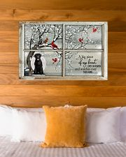 A Big Piece Of My Heart Lives In Heaven Black Lab 36x24 Poster poster-landscape-36x24-lifestyle-23