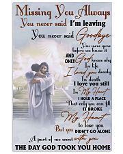 Missing You Always You Never Said I'm Leaving 11x17 Poster front