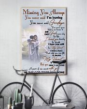 Missing You Always You Never Said I'm Leaving 11x17 Poster lifestyle-poster-7