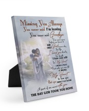 Missing You Always You Never Said I'm Leaving 8x10 Easel-Back Gallery Wrapped Canvas thumbnail