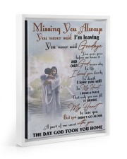 Missing You Always You Never Said I'm Leaving 11x14 White Floating Framed Canvas Prints thumbnail