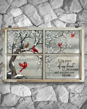 A Big Piece Of My Heart Lives In Heaven  36x24 Poster aos-poster-landscape-36x24-lifestyle-12