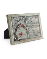 A Big Piece Of My Heart Lives In Heaven  Easel-Back Gallery Wrapped Canvas tile