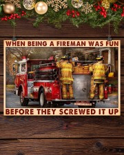 When Being A Fireman Was Fun Before They Screwed 17x11 Poster aos-poster-landscape-17x11-lifestyle-27