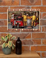 When Being A Fireman Was Fun Before They Screwed 17x11 Poster poster-landscape-17x11-lifestyle-23
