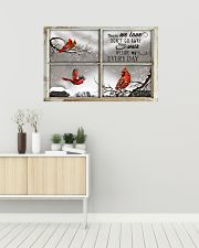 Those We Love Don't Go Away They Walk Beside Us 36x24 Poster poster-landscape-36x24-lifestyle-01