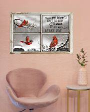 Those We Love Don't Go Away They Walk Beside Us 36x24 Poster poster-landscape-36x24-lifestyle-19