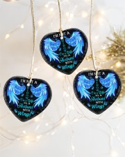 I'm Not A Widow I'm A Wife To A Husband Ornament Heart ornament - 3 pieces (porcelain) aos-heart-ornament-3-pieces-porcelain-lifestyles-03