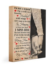 I'm Not A Widow  11x14 Gallery Wrapped Canvas Prints thumbnail