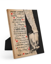 I'm Not A Widow  8x10 Easel-Back Gallery Wrapped Canvas thumbnail