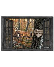 Family Gift Reindeer Out Side The Window Horizontal Poster tile