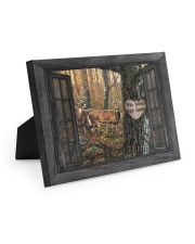 Hunting Couple 10x8 Easel-Back Gallery Wrapped Canvas thumbnail
