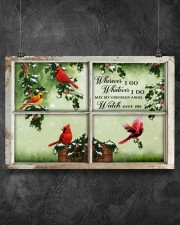 Wherever I Go Whatever I Do May My Guardian Angel  36x24 Poster aos-poster-landscape-36x24-lifestyle-11