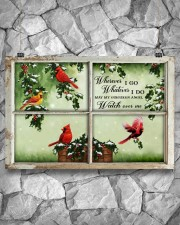 Wherever I Go Whatever I Do May My Guardian Angel  36x24 Poster aos-poster-landscape-36x24-lifestyle-12