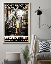 Don't Practice Until You Get It Right 24x36 Poster lifestyle-poster-1