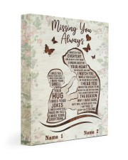 Missing You Always Gallery Wrapped Canvas Prints tile