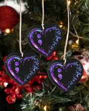 No Story Should End Too Soon Heart ornament - 3 pieces (porcelain) aos-heart-ornament-3-pieces-porcelain-lifestyles-02