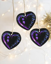 No Story Should End Too Soon Heart ornament - 3 pieces (porcelain) aos-heart-ornament-3-pieces-porcelain-lifestyles-03