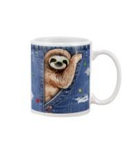 Sloth In The Bag Mug tile