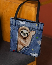 Sloth In The Bag All-over Tote aos-all-over-tote-lifestyle-front-02