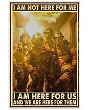 I Am Not Here For Me I Am Here For Us Vertical Poster tile