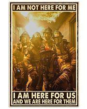 I Am Not Here For Me I Am Here For Us 24x36 Poster front