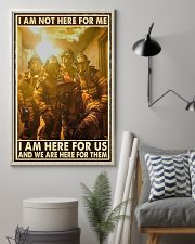 I Am Not Here For Me I Am Here For Us 24x36 Poster lifestyle-poster-1