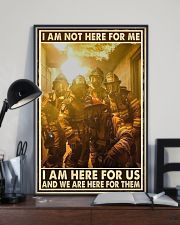I Am Not Here For Me I Am Here For Us 24x36 Poster lifestyle-poster-2