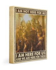 I Am Not Here For Me I Am Here For Us Gallery Wrapped Canvas Prints tile
