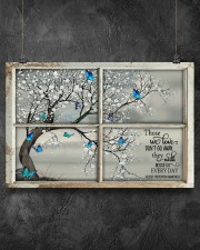 Those We Love Don't Go Away They Walk Beside Us  36x24 Poster aos-poster-landscape-36x24-lifestyle-11