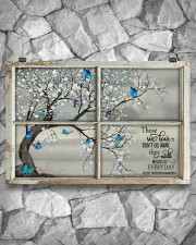Those We Love Don't Go Away They Walk Beside Us  36x24 Poster aos-poster-landscape-36x24-lifestyle-12