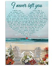 Memorial Gift Beach I Never Left You I Watch You Every Day 24x36 Poster front