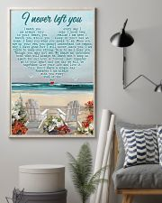 Memorial Gift Beach I Never Left You I Watch You Every Day 24x36 Poster lifestyle-poster-1