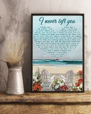 Memorial Gift Beach I Never Left You I Watch You Every Day 24x36 Poster lifestyle-poster-3
