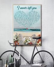 Memorial Gift Beach I Never Left You I Watch You Every Day 24x36 Poster lifestyle-poster-7