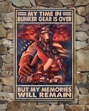 My Time In Bunker Gear Is Over But My Memories  24x36 Poster aos-poster-portrait-24x36-lifestyle-16