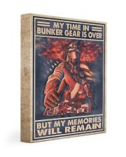 My Time In Bunker Gear Is Over But My Memories  11x14 Gallery Wrapped Canvas Prints thumbnail