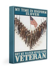 My Time In Uniform Is Over 11x14 Gallery Wrapped Canvas Prints thumbnail