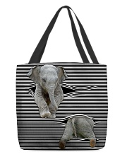 Elephant Tote Bag All-over Tote back