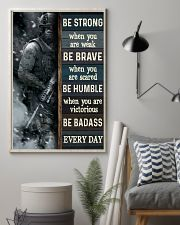 Be Strong When Weak Be Brave When Scared Veteran 11x17 Poster lifestyle-poster-1