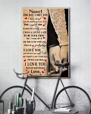 Family Gift The Day I Met You I Have Found The One 24x36 Poster lifestyle-poster-7