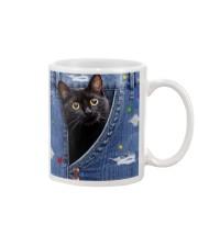 Cat In The Bag Mug tile