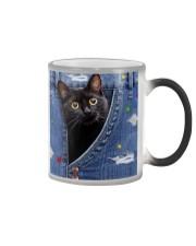 Cat In The Bag Color Changing Mug tile