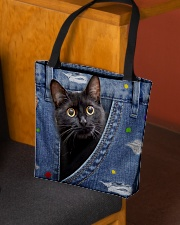 Cat Lover British Bombay Cat In The Bag All-over Tote aos-all-over-tote-lifestyle-front-02