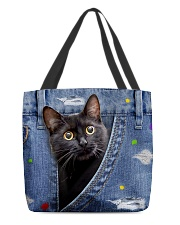 Cat Lover British Bombay Cat In The Bag All-over Tote back